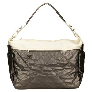 Chanel Metallic Leather Paris-Biarritz Weekender